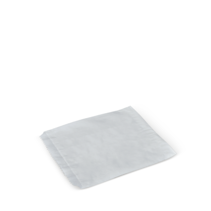 a413s0001_detpak_25_greaseproof_flat_bag_white