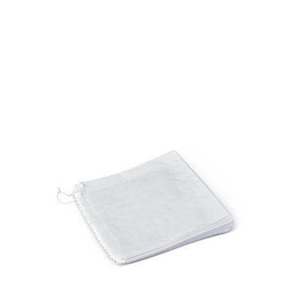 a551s0001_detpak_2_strung_square_greaseproof_flat_bag_white