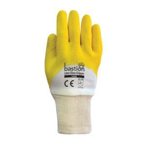Latex Glass Gripper Gloves