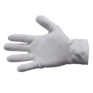 Cotton Interlock Gloves – Hemmed Cuff