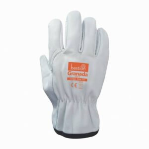 Cut 5 – Premium A Grade Cow Grain Natural Leather Riggers Gloves