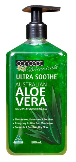 Ultra Soothe Aloe Vera Gel 500ml Pump